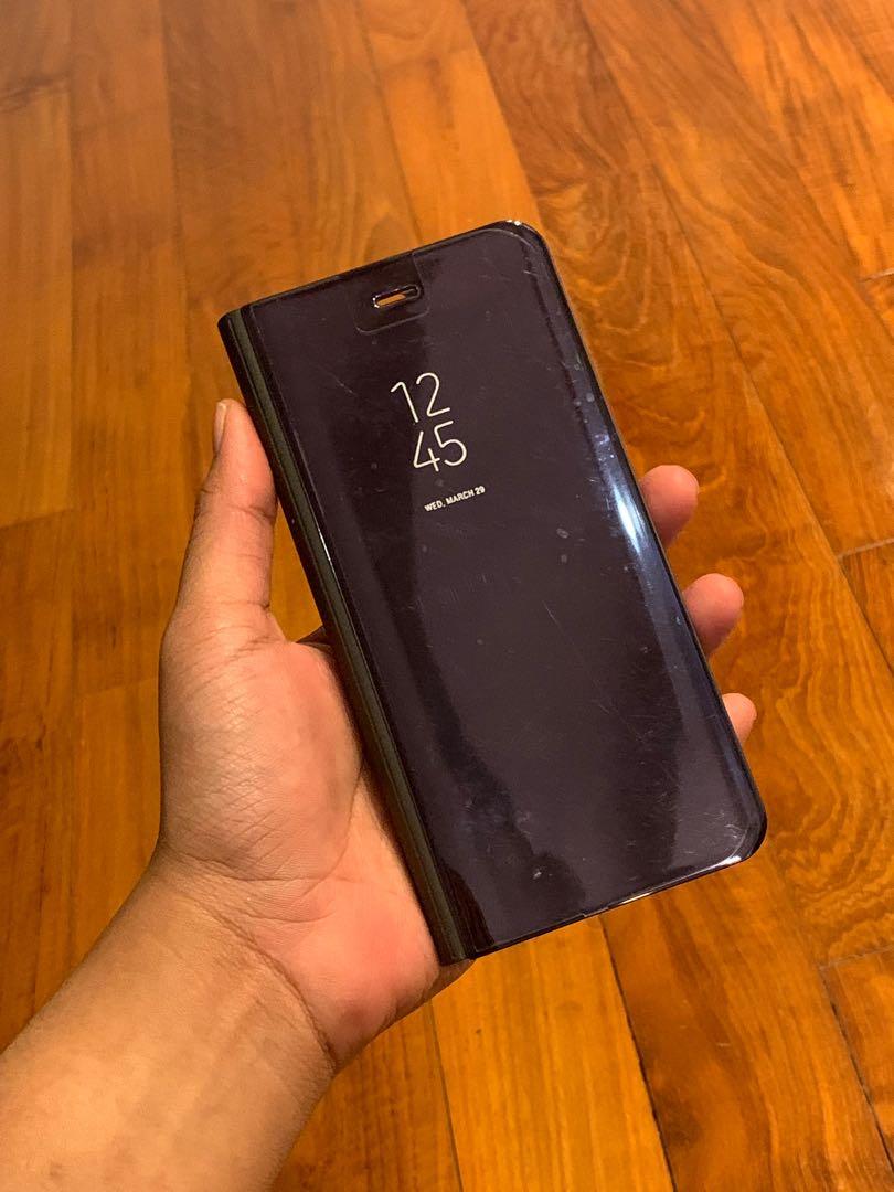 Huawei P10 (Mirror Screen Flip Casing)