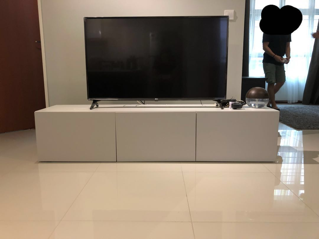 Ikea Besta Tv Console Furniture Tables Chairs On Carousell
