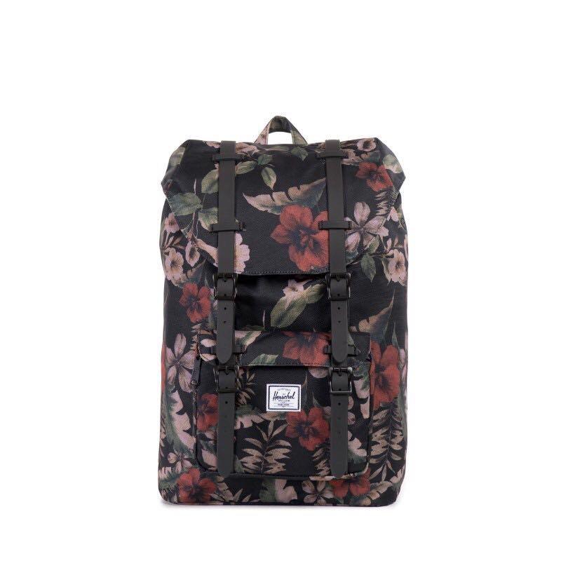 d63ea341145 Instock  Herschel Little America 17L Backpack Hawaiian Camo