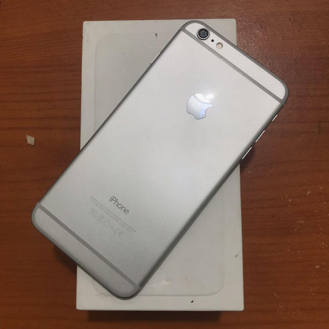 Iphone 6 Plus 64gb Ibox Silver Mulus Full Ori Bisa Tt 0411f88833