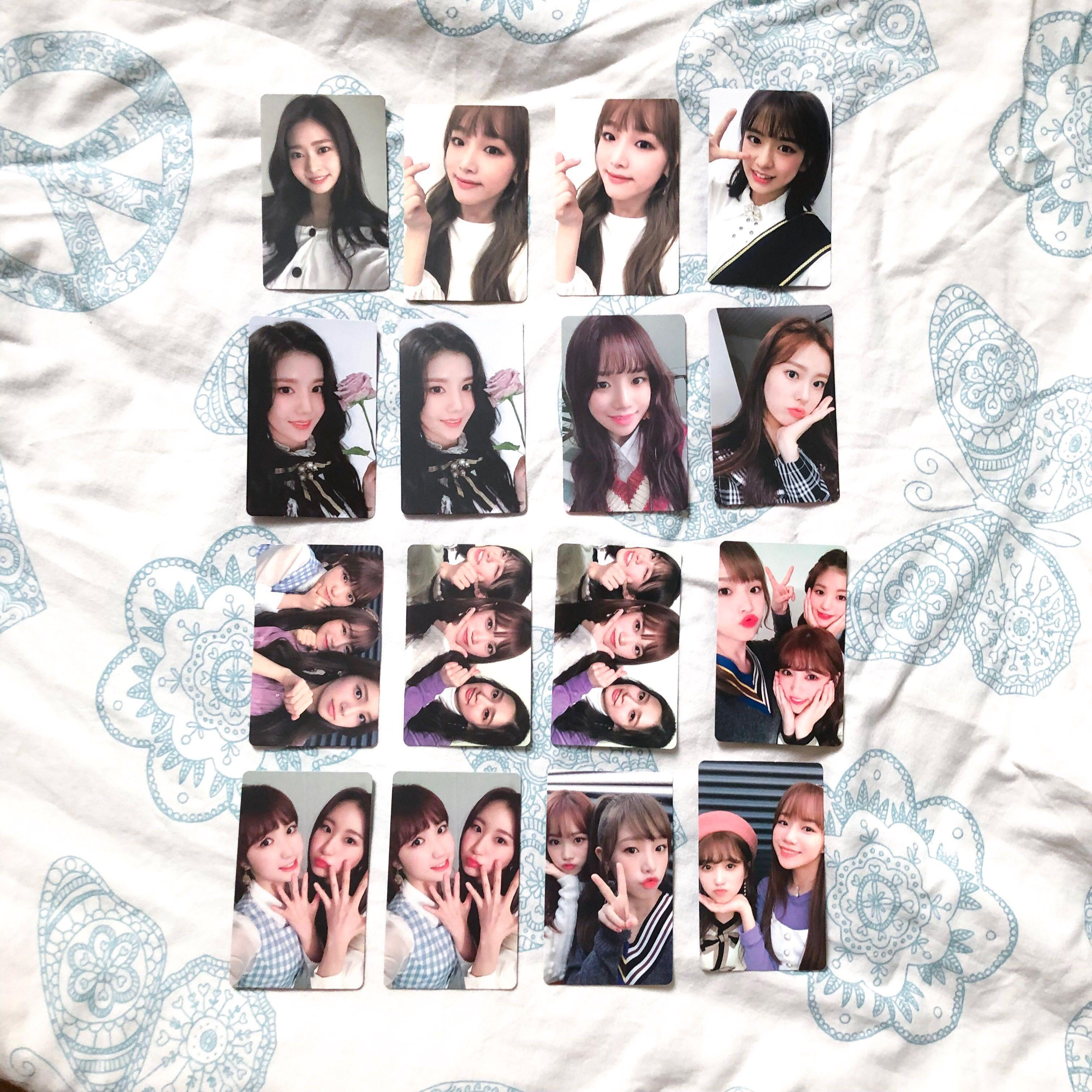 IZONE COLOR*iz Photocards + CDs, Entertainment, K-Wave on