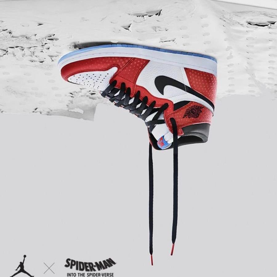 834a814645b7 Jordan 1 Chicago Spider-Man