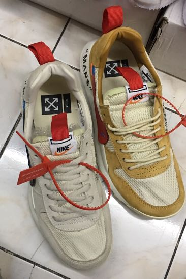9d135dd132b75 Limited Edition Tom Sachs Nike + Off White - Mars Sneaker