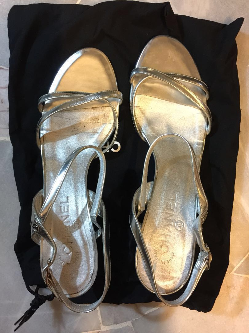 6920e13bfe78 Markdown!! Chanel authentic high heels size 40