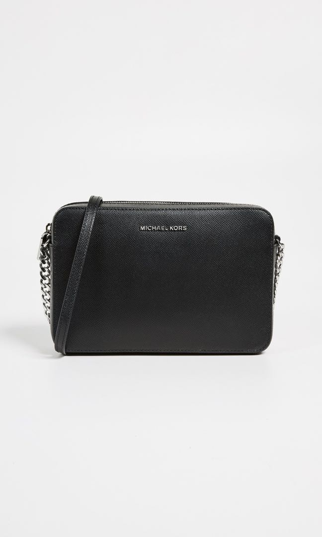 ddba6a3f1df2c Michael Kors Black Crossbody Bag (Sale)
