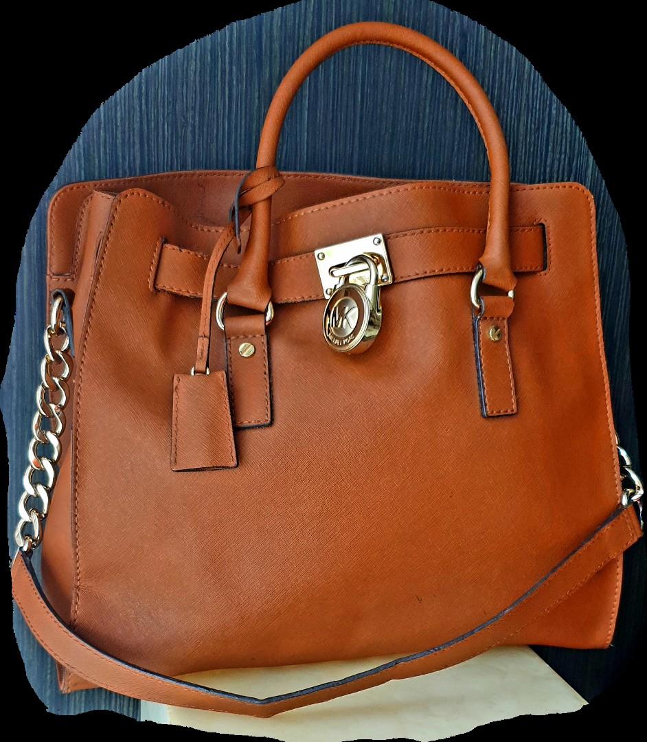 f16da43068d8 Michael Kors Hamilton Large leather