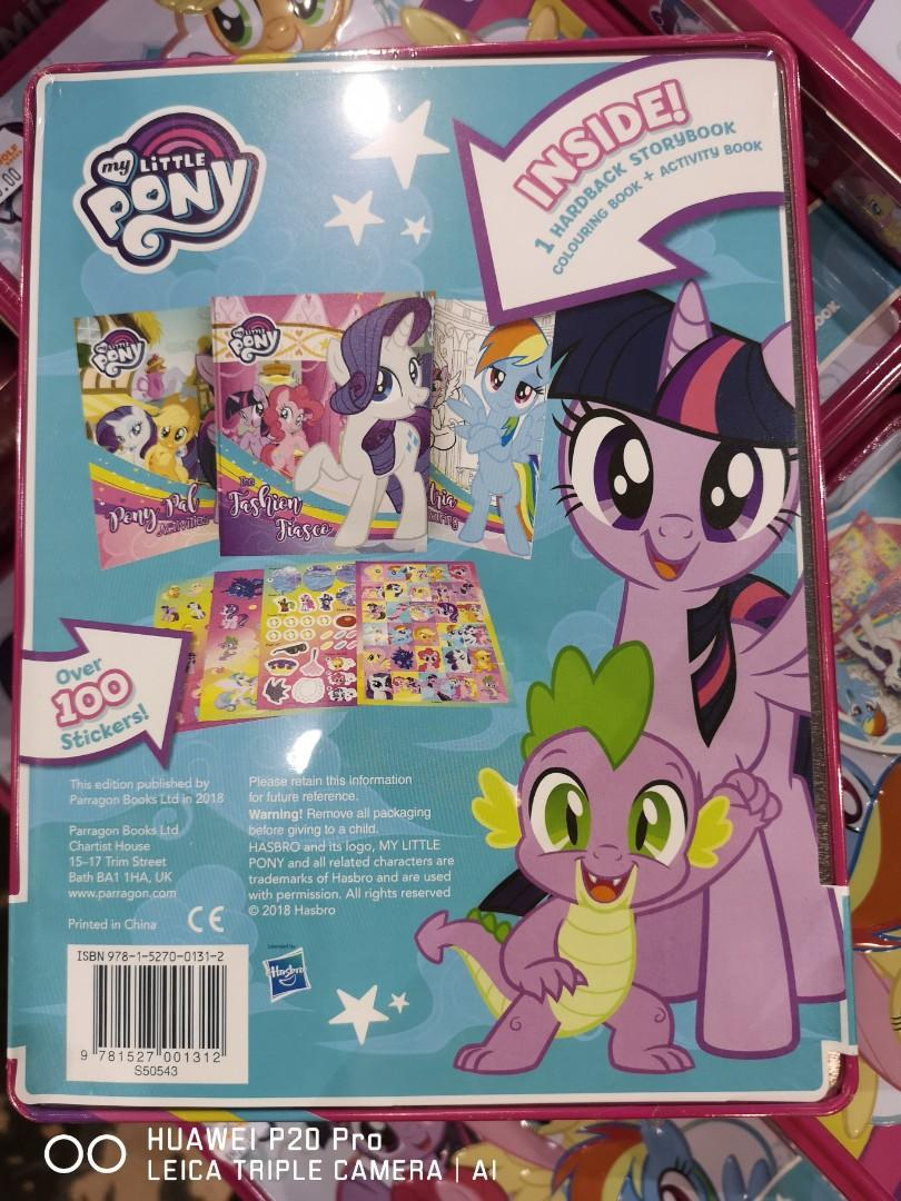 My little pony / Little Miss Princess : story book+activity books in Tin