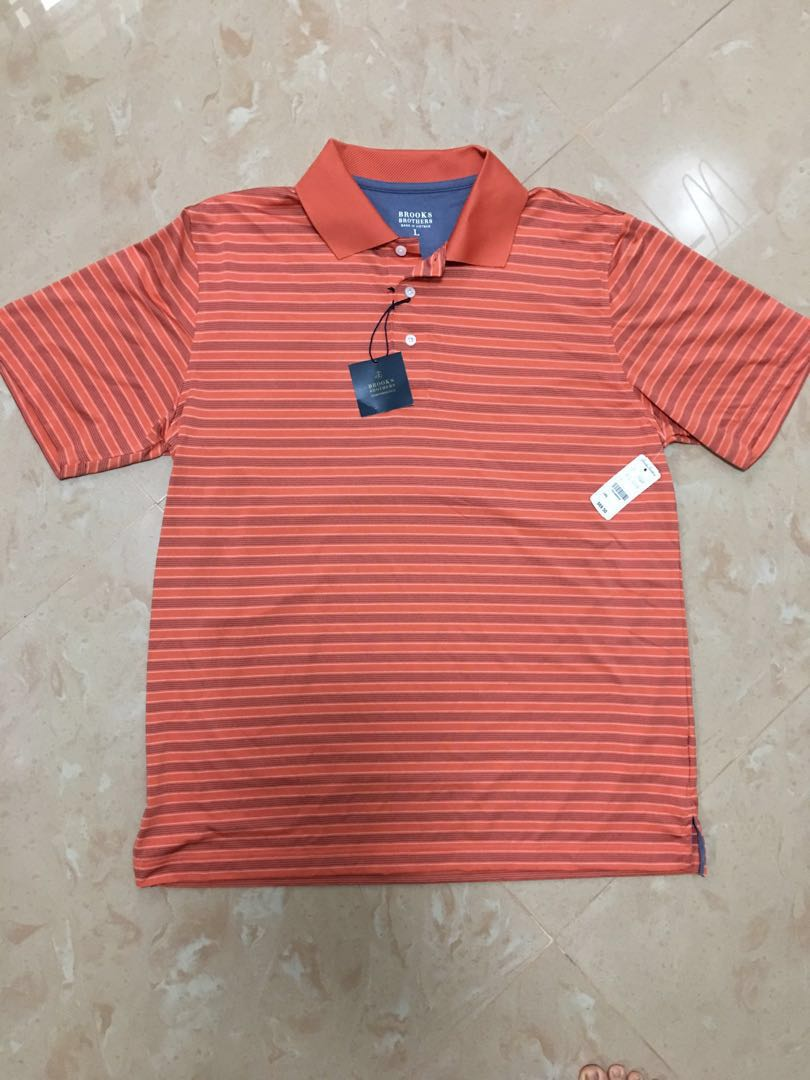 NEW Brooks Brothers Polo Tee - L size  cf59437e7