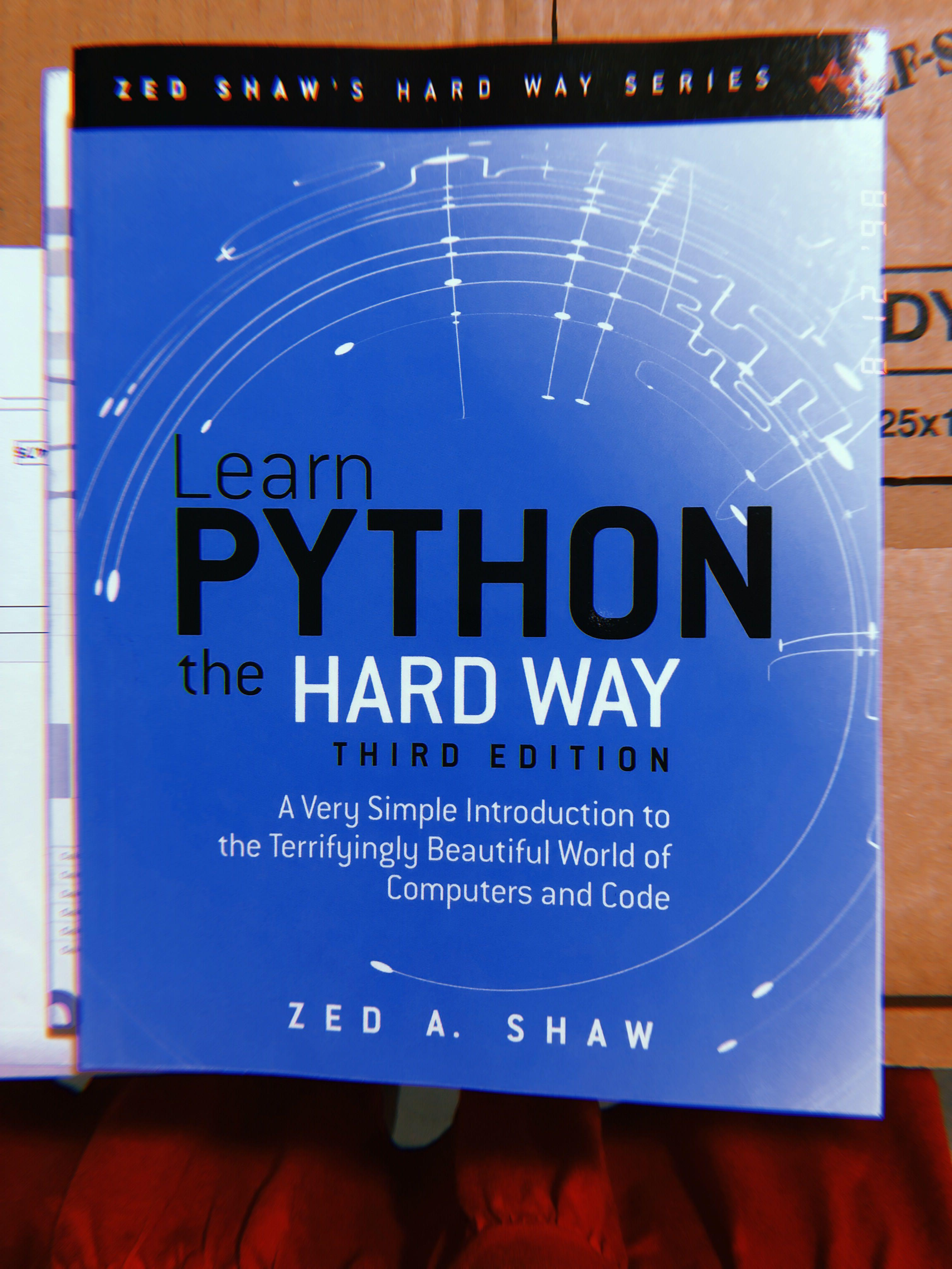 NEW LEARN PYTHON THE HARD WAY 3rd EDITION, Books