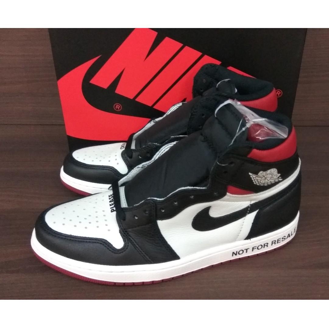 8a3c18f2260a5c Nike Air Jordan 1 Retro High Not For Resale