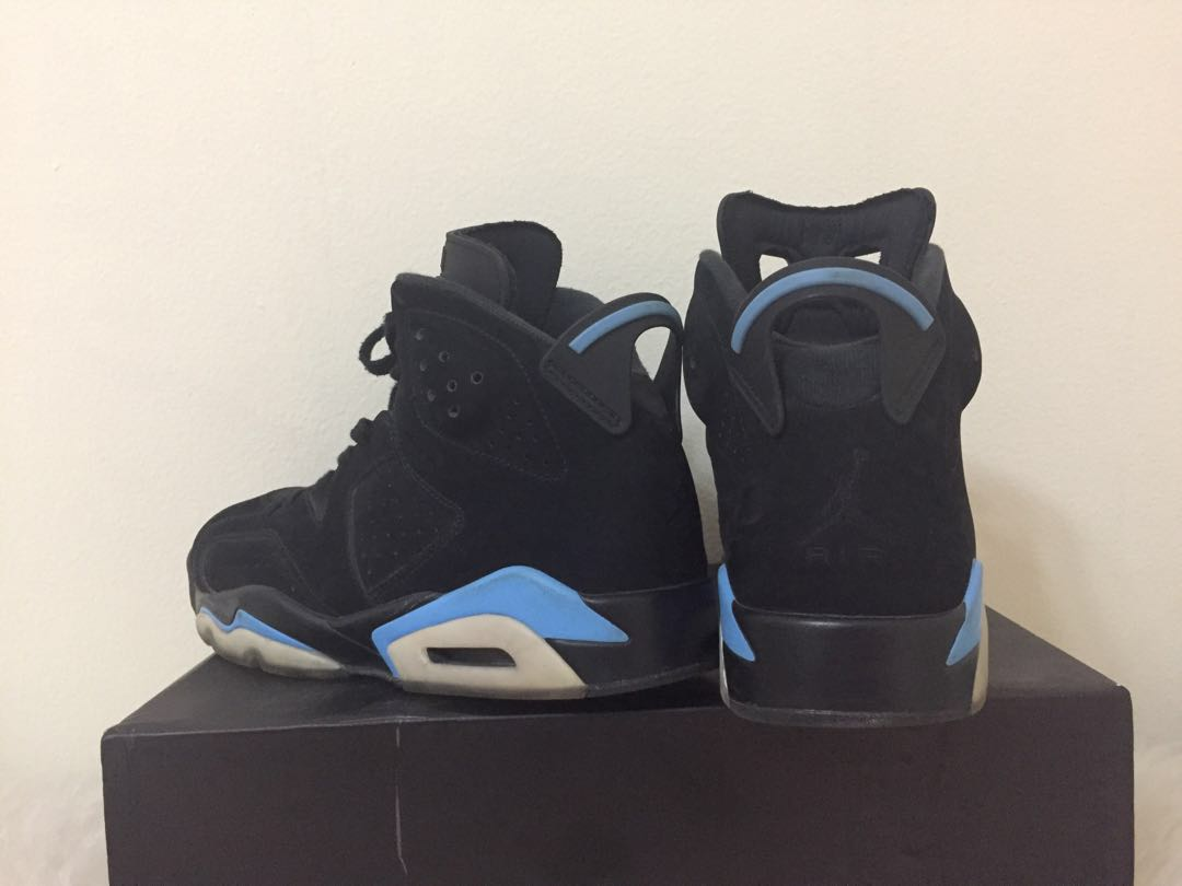 a4a311f12c4 Nike air jordan 6 retro unc black university blue, Men's Fashion ...