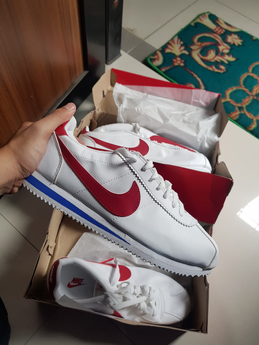 NIKE CORTEZ FOREST GUMP Mens Fashion Footwear Sneakers On Carousell