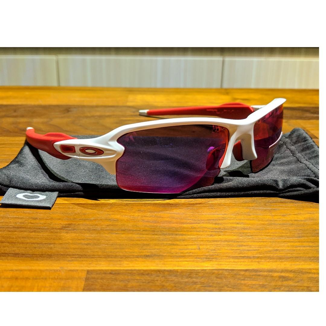 8b48bcce9e Oakley Flak Jacket 2.0 Sunglasses • PRIZM Road Lenses • Polished ...