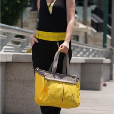 3b253c7e8434 Diaper Bag - okiedog - Metro Mondrian Yellow