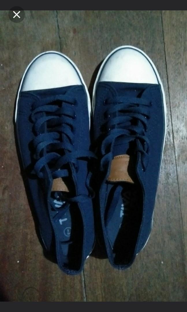 0d87ca79c7f9 Original Fila tiva navy blue sneakers(SALE)
