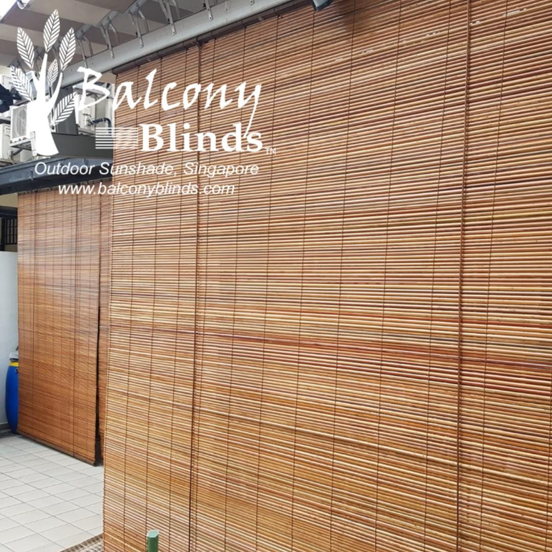 Outdoor Bamboo Blinds, Everything Else on Carousell