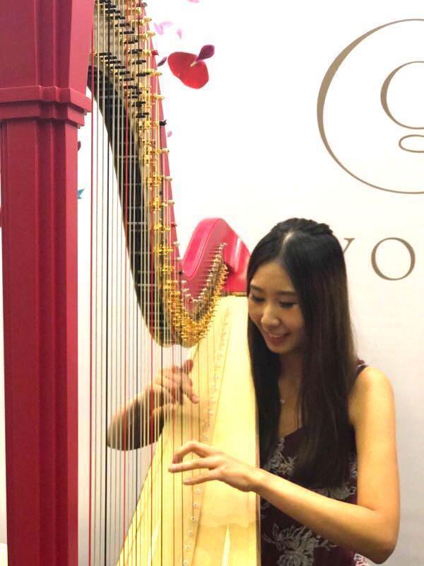 豎琴課pedal Harp lesson LTCL Registered teacher