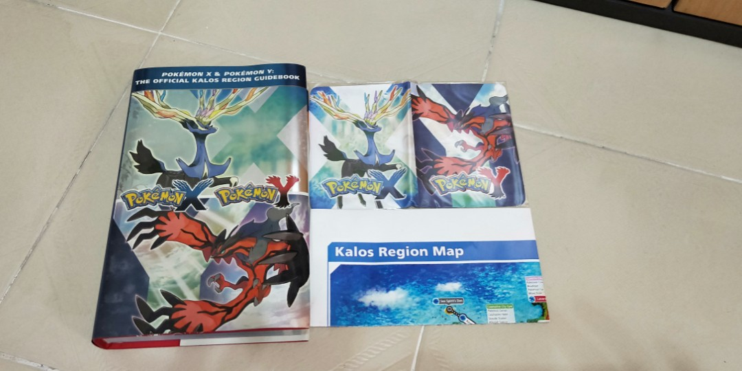 Pokemon X & Y official guidebook, Toys & Games, Video Gaming, Gaming on