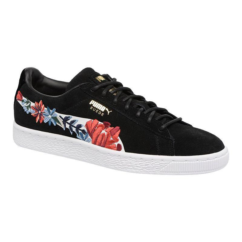 puma shoes with flowers - 60% OFF