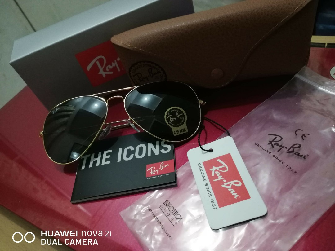 1b43d59f49 Ray-Ban Aviator Large Metal