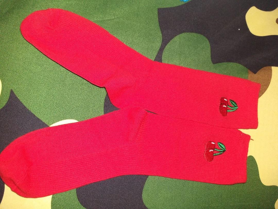 Red Berry Socks