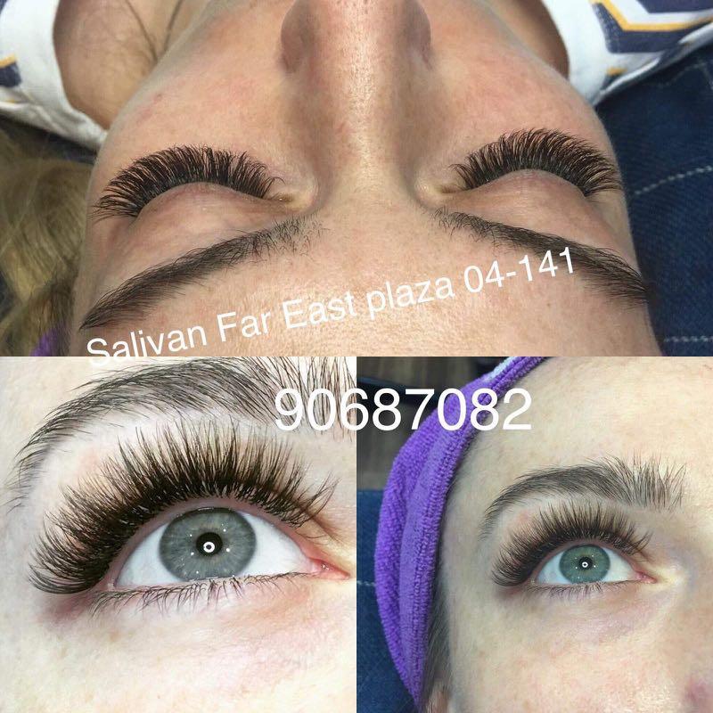 db8e46b05b0 Salivan brow and eyelash extensions 20% off menu, Health & Beauty ...