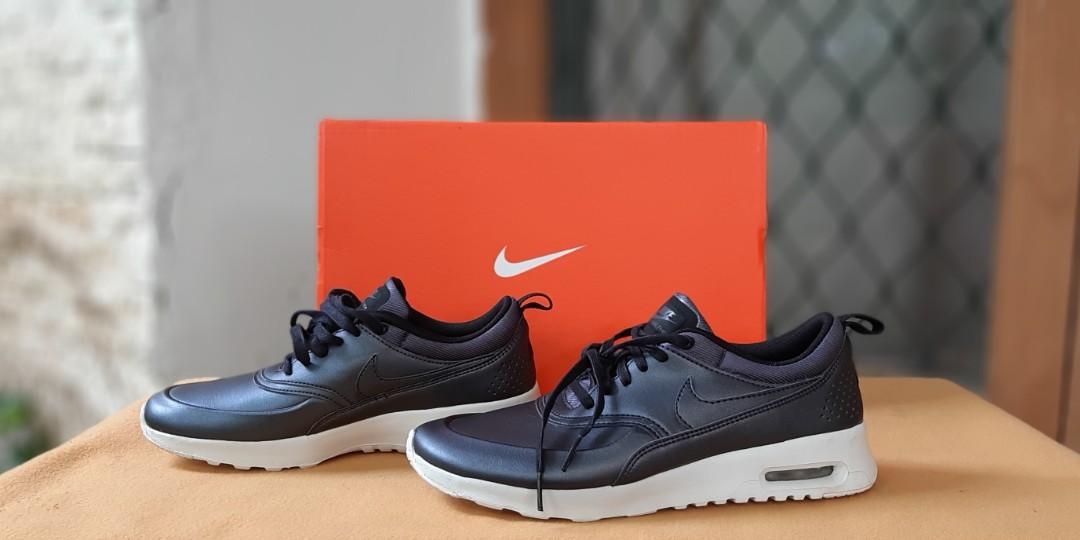 Sepatu NIKE AIRMAX THEA Hitam Baru Asli Original Jual Cepat Termurah