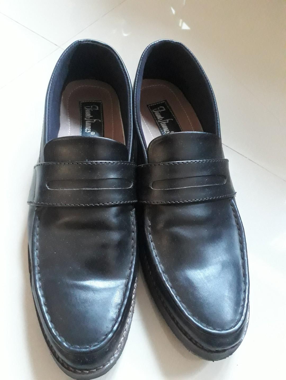 Sepatu Slip On Formal Giant Flames 4cbb46123f