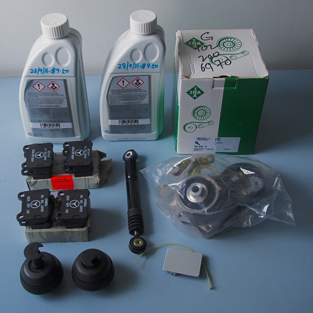 Spare Parts for MB200E W124 8-valve Engine