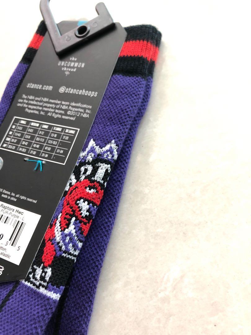 Stance NBA 籃球襪,Raptors 速龍隊