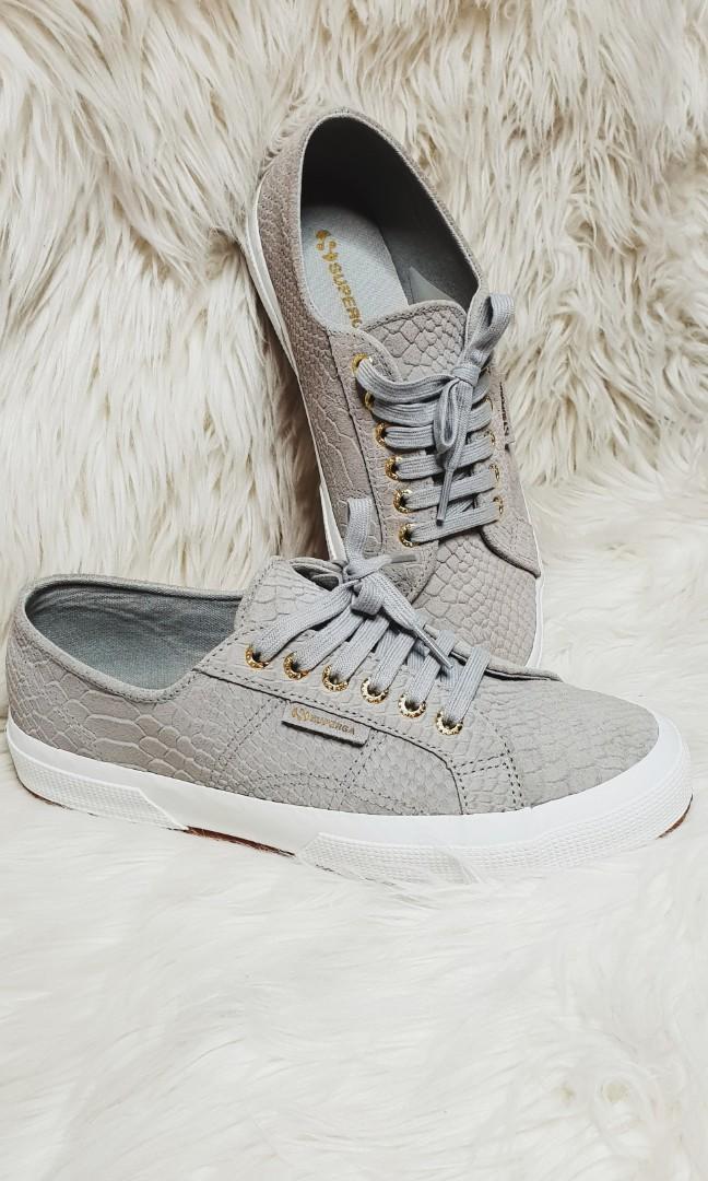 wholesale dealer sale temperament shoes Superga 2750 Sued Anaconda Sneakers, Women's Fashion, Shoes ...