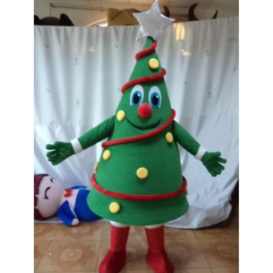 Talents Santa Claus Santa Rina And Christmas Tree Frosty The