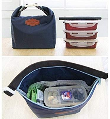 Thermal food insulation lunch bag