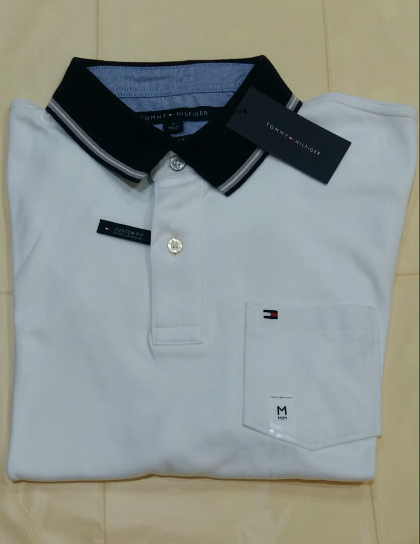 e264ad23 Tommy Hilfiger White Polo Shirt. Stylish. Brand New With Tag, Men's ...