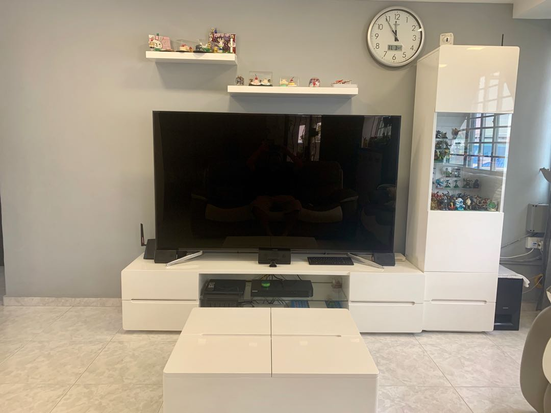 Tv Console Display Cabinet Sideboard Price Reduced Furniture
