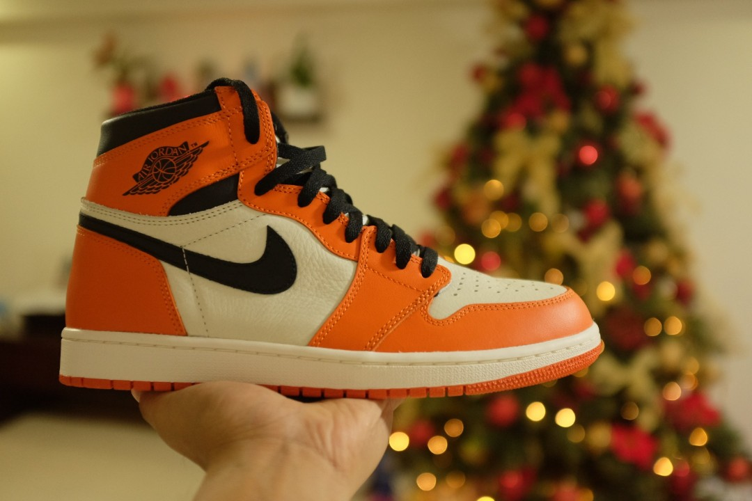 info for ad032 aed0f US10.5 Air Jordan 1 Reverse Shattered Backboard, Men s Fashion, Footwear,  Sneakers on Carousell