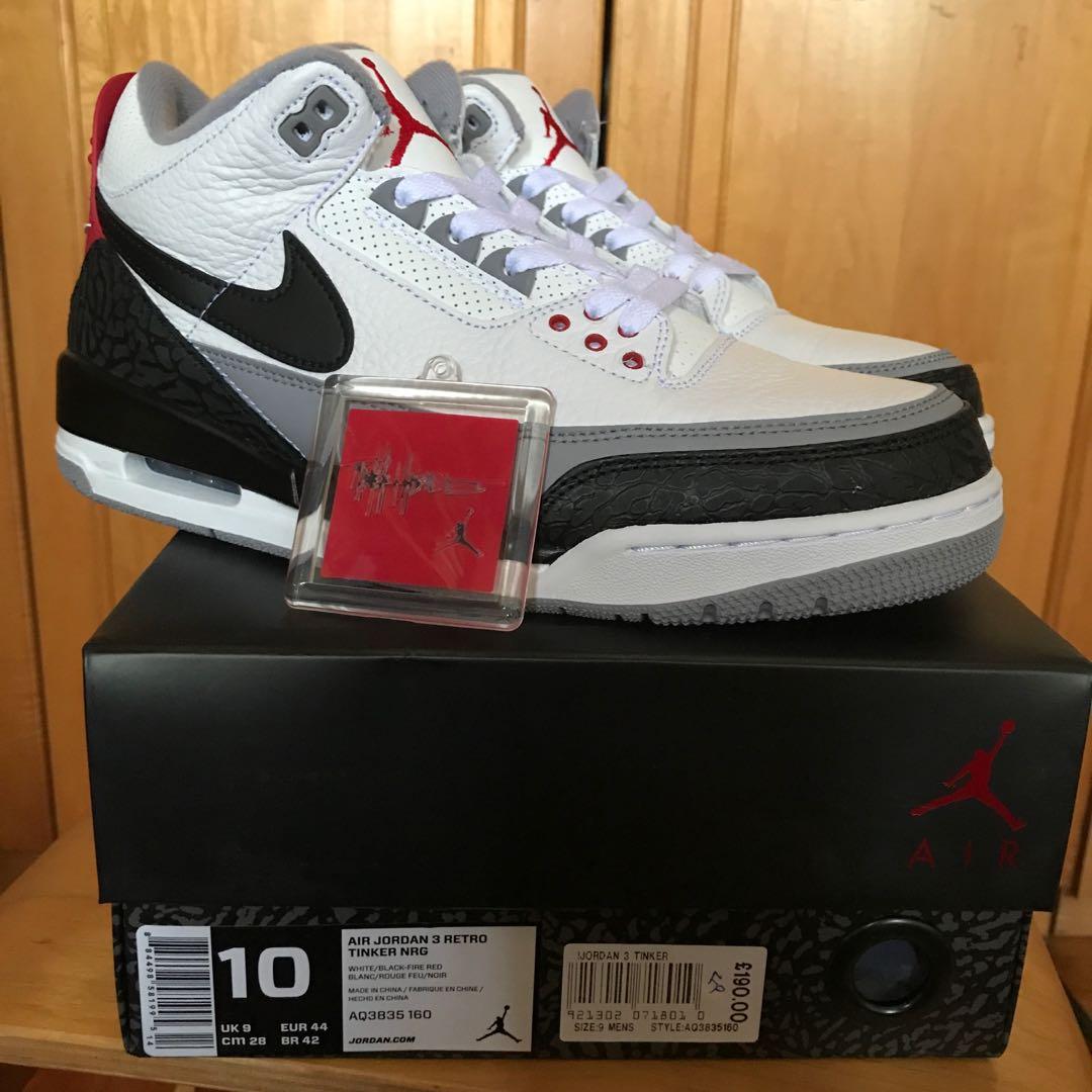 578f093e575c US10 Nike Jordan 3 Tinker Hatfield