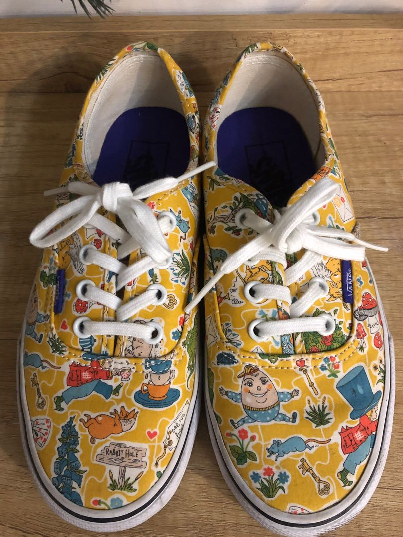 6b8246571da Vans Alice in Wonderland Shoes