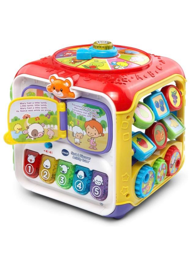Vtech Sort Discover Activity Cube Multicolor