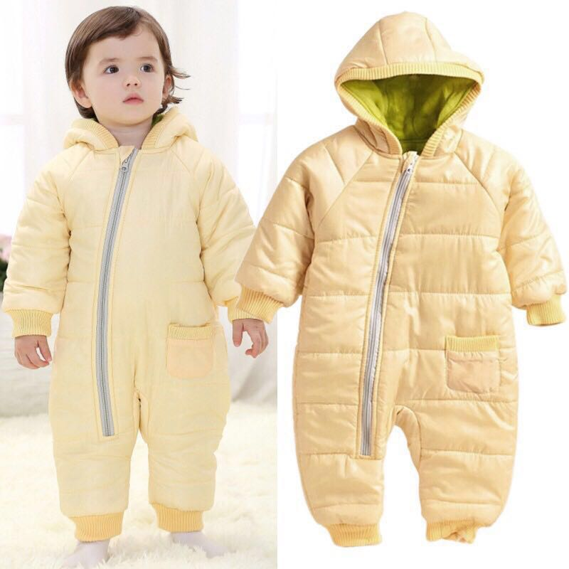 ce060105b Winter Onesie Suit, Babies & Kids, Babies Apparel on Carousell
