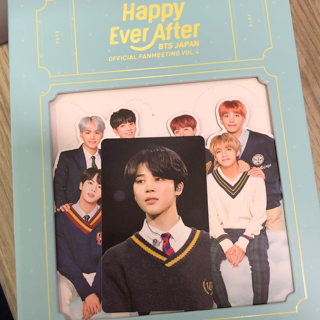 4TH JP MUSTER Happy Ever After bts bangtan