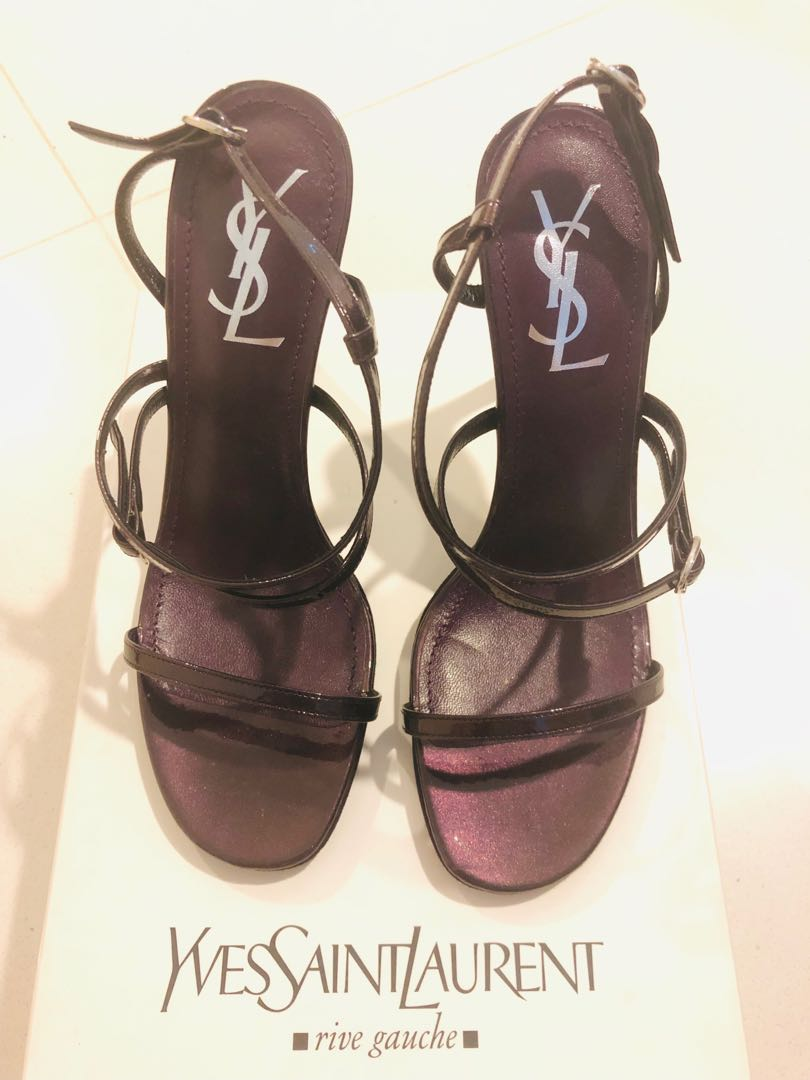 652a588ba01a YSL high Heel Sandals