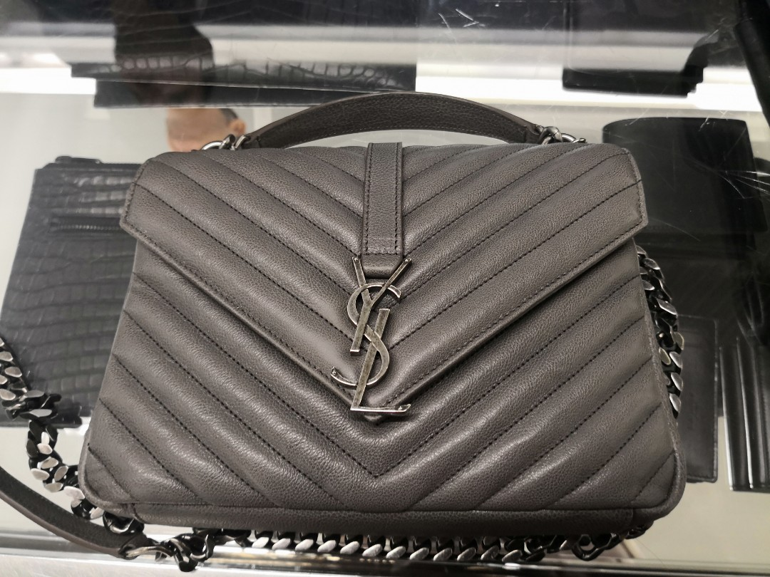 YSL medium matelasse college bag from Florence Outlet mall bfe91548492d8
