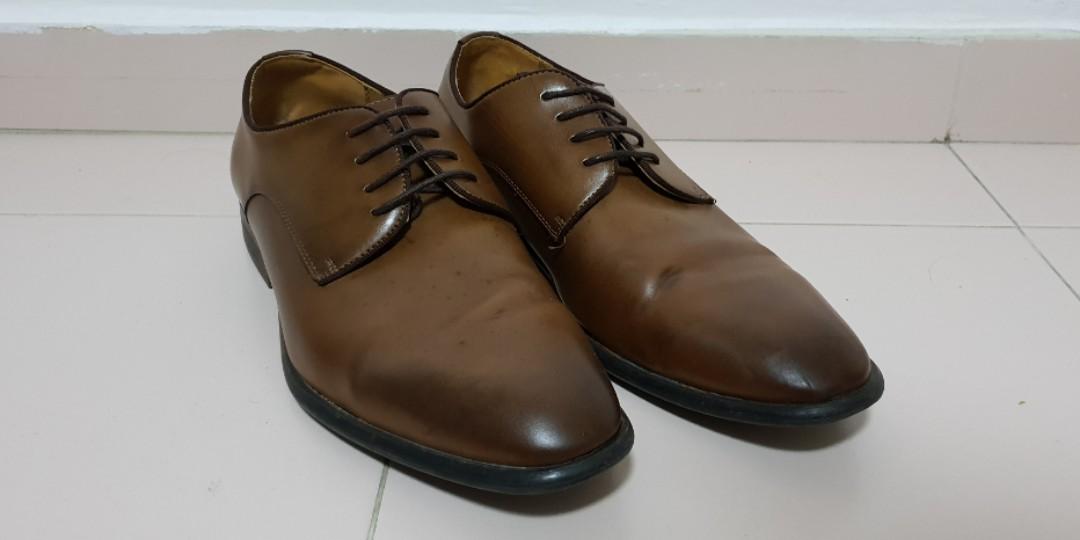 80d3dad5 Zara Brown formal shoes, Men's Fashion, Footwear, Formal Shoes on ...