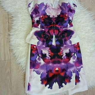 mini dress flower
