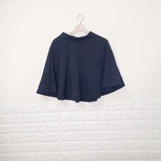 🔥買一送一🔥9.9成新,黑色波浪裙