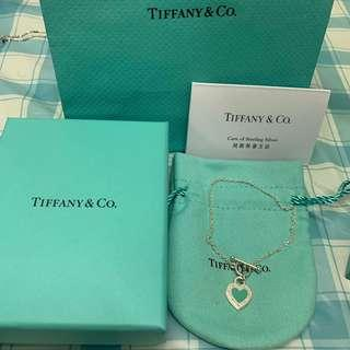 Tiffany 新款 心牌 手鍊