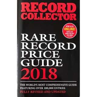 RARE RECORD / VINYL PRICE GUIDE 2018 By Record Collector Magazine