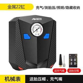 Portable tyre electric air compressor pump (analog)