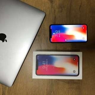 iPhone X 64 GB garansi resmi iBox Free 5 case dan garskin